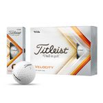 Custom Titleist Velocity Golf Balls (Factory Direct)