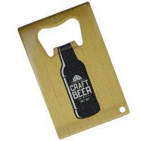 Flat/Credit Card Bottle Openers - Digital Full Color