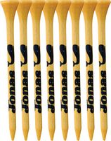 """8 Pack of Bamboo Golf Tees (2 3/4"""")"""