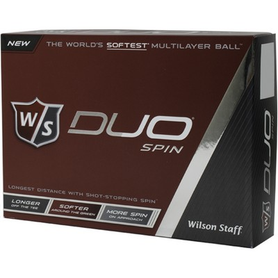 Wilson Staff Duo Spin Golf Ball (Factory Direct)