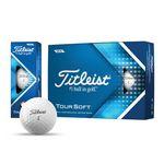 Custom Titleist Tour Soft Golf Balls (Factory Direct)