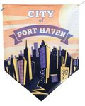 Full Color Durable Pennant Banner (48
