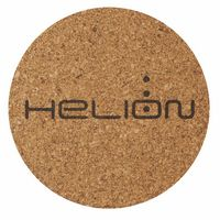 "3.5"" Round - Cork Coaster - The 500 Line"