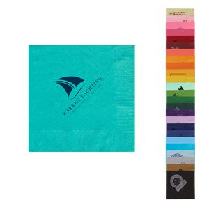 5x5 Colored 2-Ply Beverage Napkins - The 500 Line