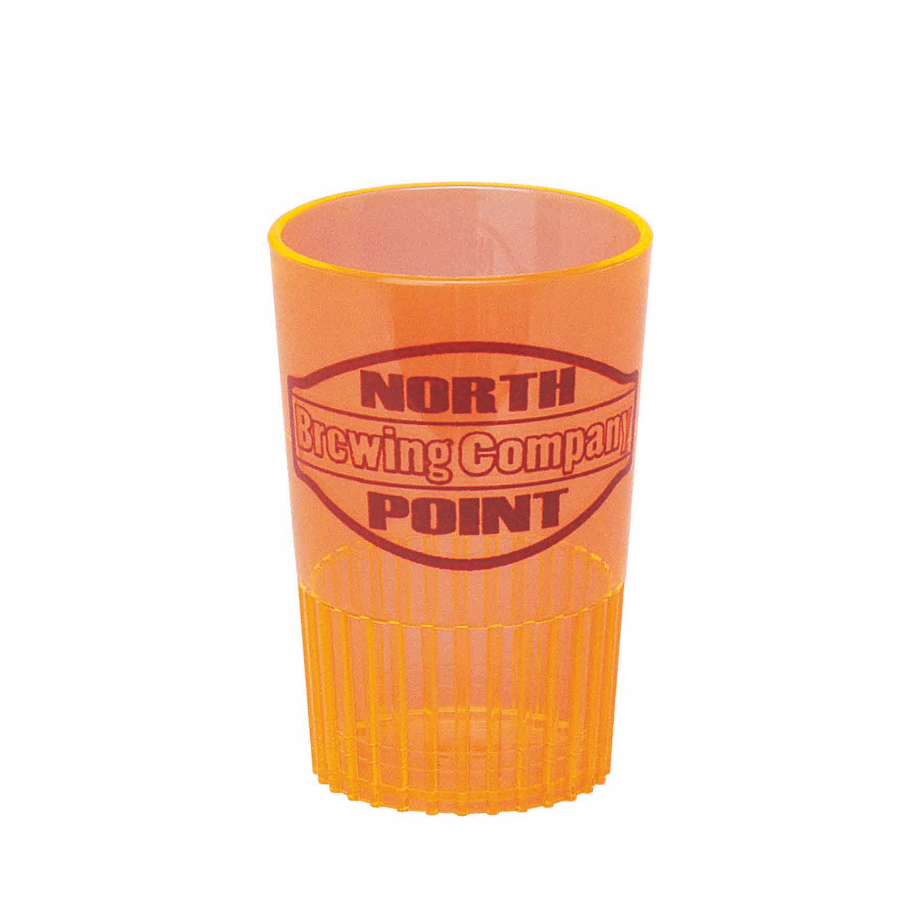 1.5 Oz. Orange Sampler/Shot Glass - Mini-Brites - The 500 Line