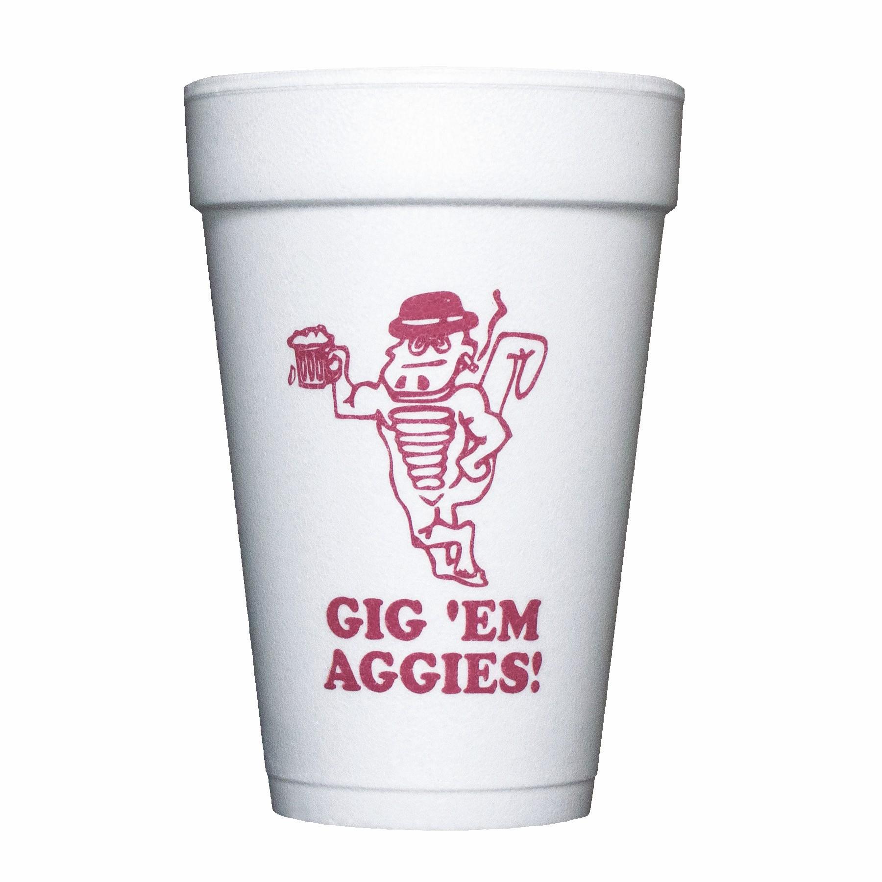 16 Oz. Foam Cups - High Lines