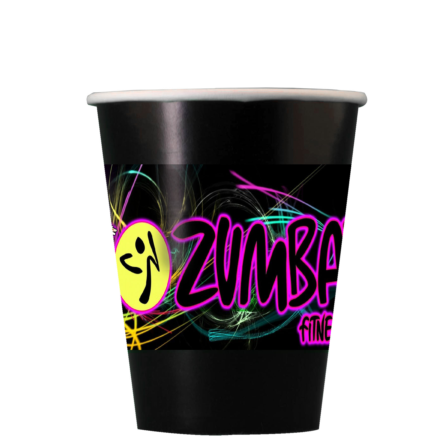 Digital Colorware 9 Oz. Paper Cup - The 500 Line