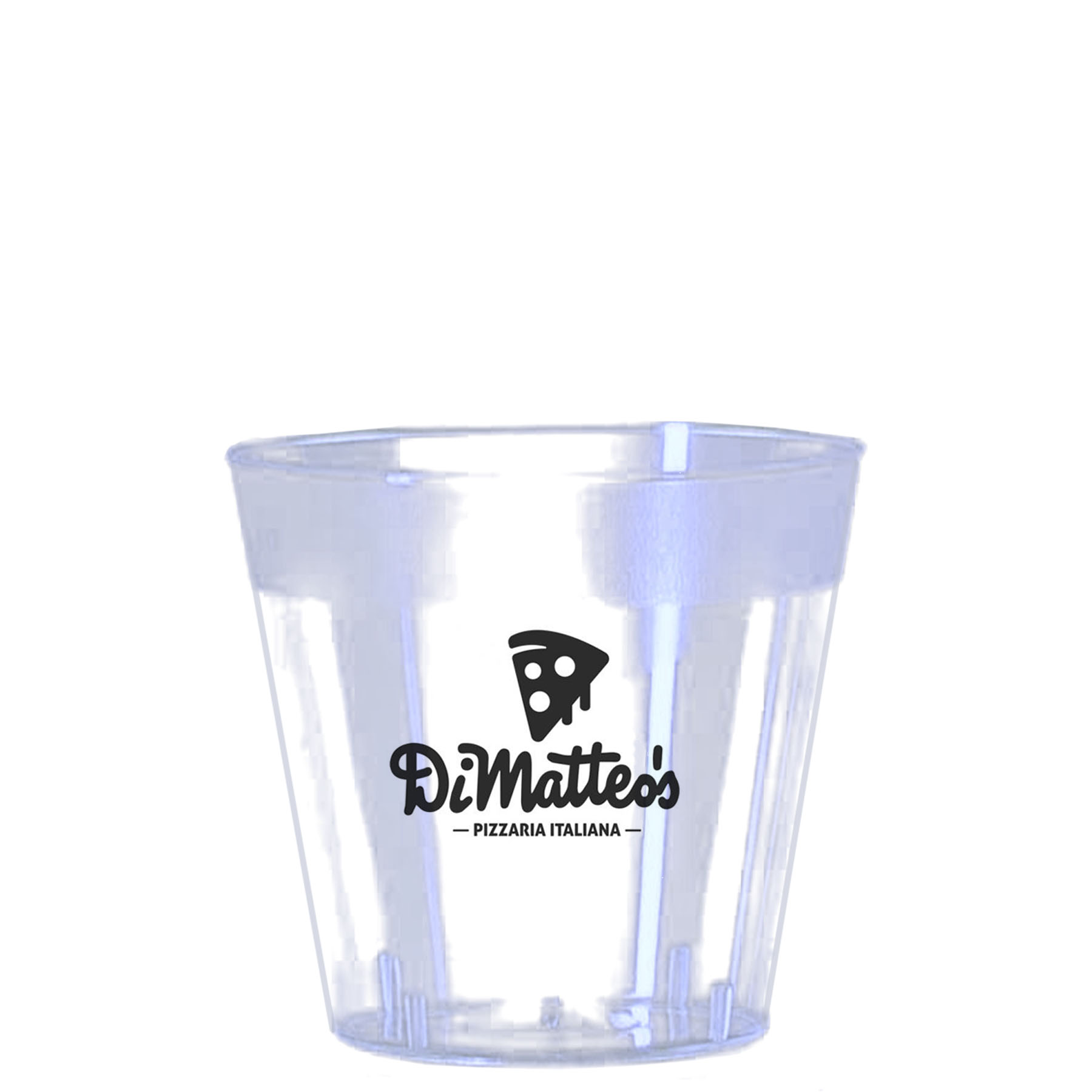 1 Oz. Clear Plastic Shot Glass - Clear & Classic Crystal® Cups-The 500 Line