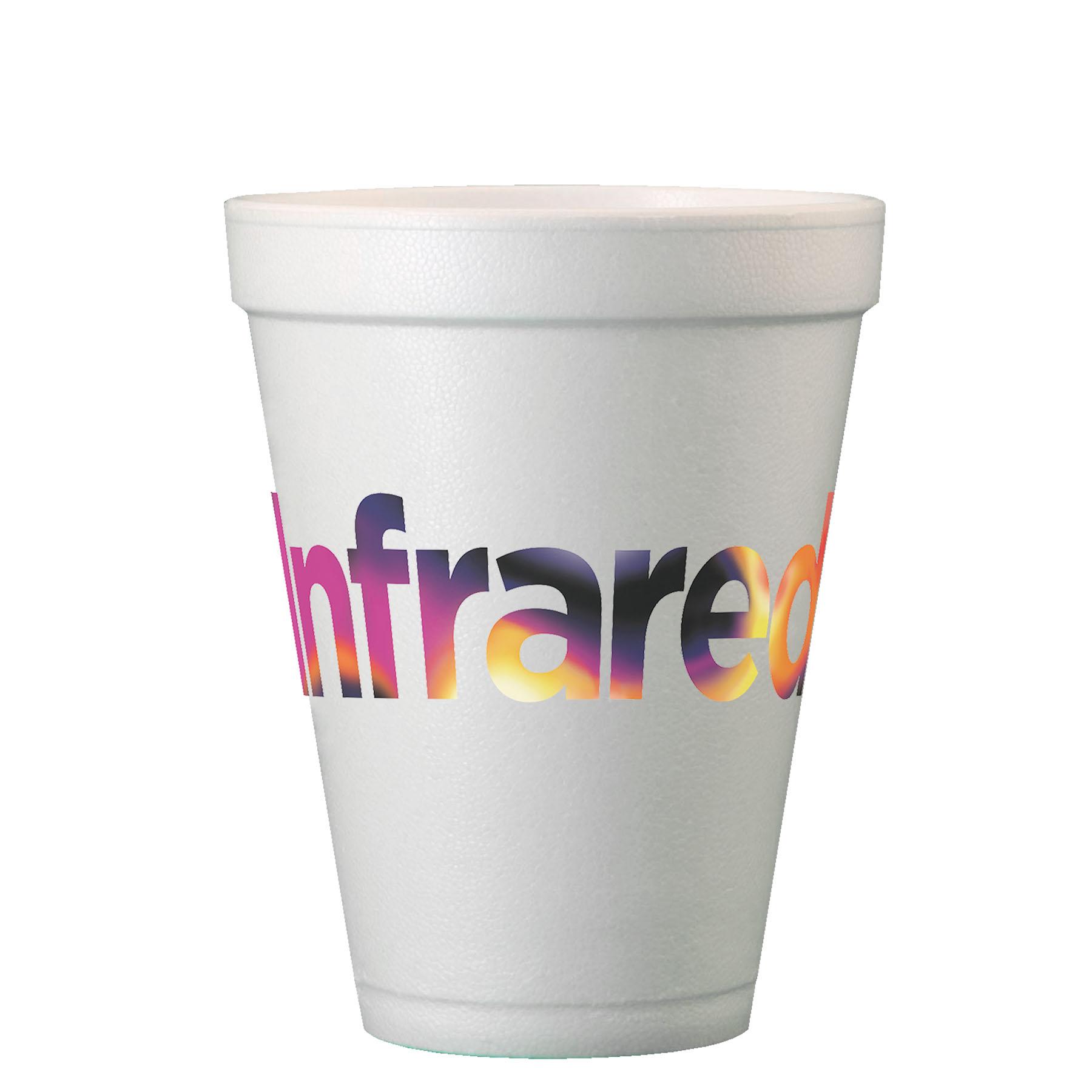 Digital 12 Oz. Foam Cups - TGI Digital