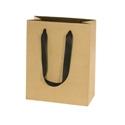Custom Process Printed Cotton Twill Ribbon Euro Tote Bag (Ivory) (16
