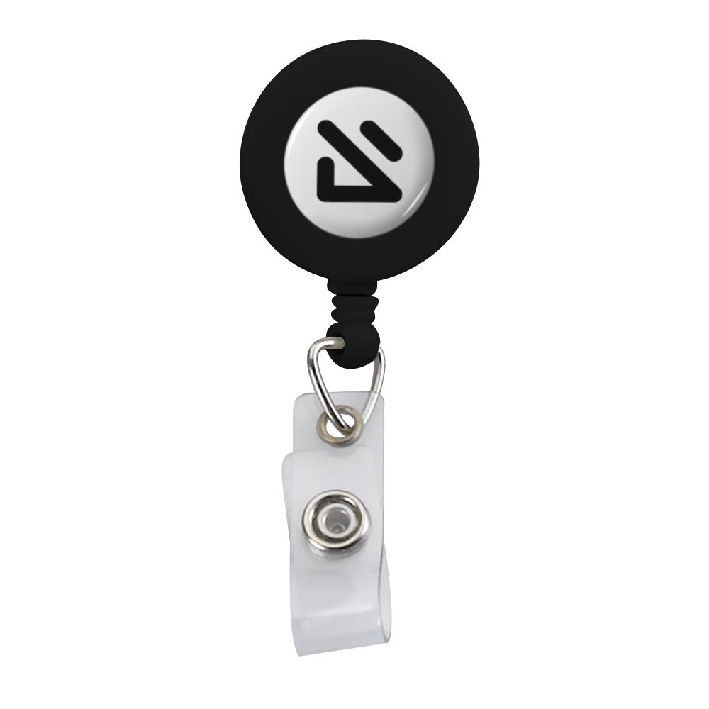 395322406-190 - Imported Plastic Retractable Badge Reel - thumbnail