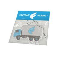 "3"" x 3"" Imported Custom Shape Air Freshener w/ Header Card"