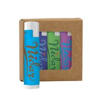 795441806-190 - Lip Moisturizer 4-Pack in Kraft Window Box - thumbnail