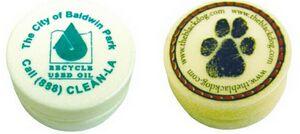 Custom Printed Recycled Material Yo-yos!