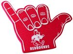 Hang Loose Hand Sign Foam Hand Mitt (14