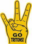 UH Sign Hand Foam Hand Mitt (18
