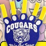 Large Paw w/Extended Claws Foam Hand Mitt