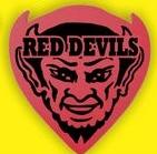 Demon/Devil Head Foam Hand Mitt (12