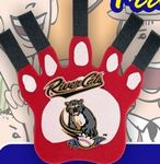 Extra Large Paw w/Extended Claws Foam Hand Mitt