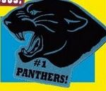 Panther Mascot on a Stick