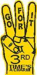 3-Finger Hand Foam Hand Mitt (22.5