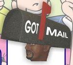 Foam Mailbox Hat
