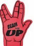 Trek Hand Sign Foam Hand Mitt (16.5