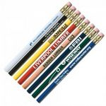 Custom Super Jumbo Pencil w/Eraser