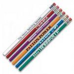 Custom Value Round Pencil (2 Day Speed Ship)