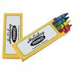 Prang® Ad Pack Crayons (2 Side Imprint)