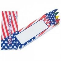 The American® Crayon 4 Pack (No Imprint)