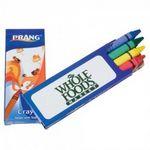 Custom Prang Crayons 4 Pack (Imprint)