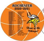 Basketball Schedule Magnet (5 1/2