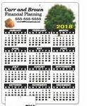 Custom Plastic Wall Calendar