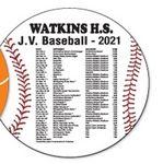 Baseball Schedule Magnet (5 1/2