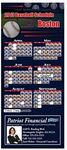 Professional Baseball Sports Schedule Magnet (3 1/2