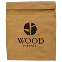 Brown Paper Bag 6-Can Lunch Cooler