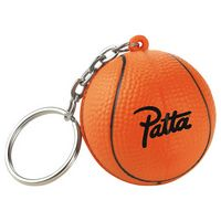 Slam-Dunk Basketball Keychain
