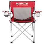 Custom Fanatic Event Folding Mesh Chair