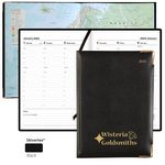 Custom Letts of London Classic Executive Planner - Week-To-View with Maps