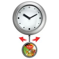 "8"" Yuma Swinging Pendulum Analog Wall Clock"