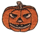 Embroidered Stock Appliques - Jack-O-Lantern