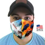Custom USA Made Full Color Dye Sub Comfy Mask