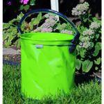 Custom Collapsible 2.6 Gallon Bucket - Lime Green