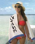 Custom Turkish Signature Midweight Islander Beach Towel
