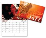 Smooth Jazz 13 Month Mini Custom Photo Appointment Wall Calendar