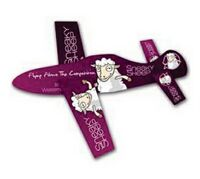 UV Coated Paper Airplane Glider