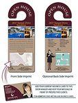 Custom Real Estate Door Hanger - 4
