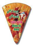 20 Mil Coated Pizza Slice Shape Magnet