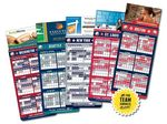 Custom Magna-Card Business Card Magnet Baseball Schedules (3.5